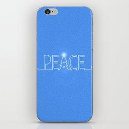 Peace Pulse Christmas iPhone Skin