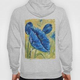 Fleur Bleu Hoody