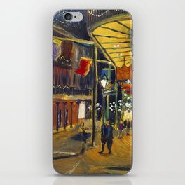 Nola at Night iPhone Skin
