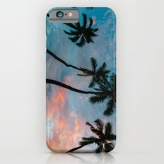 Sunset Palm Trees Slim Case iPhone 6s