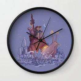 Sluggage Wall Clock