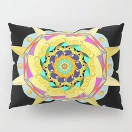 Colorful Mandala Pillow Sham