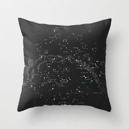 Norra Stjärnhimlen Throw Pillow