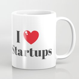 I love Startups! (: Coffee Mug