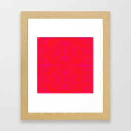 forcing colors 1 Framed Art Print
