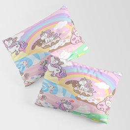 Unicorn Party in Candyland Pillow Sham