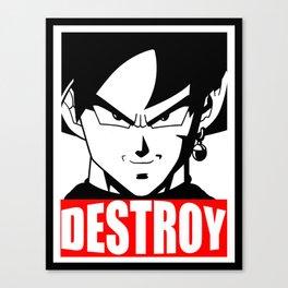 """DESTROY"" Canvas Print"