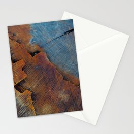 Colored Wood Stationery Cards