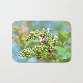 Lilac Flower - Primus Inter Pares Bath Mat