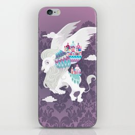 Flying Lion of Venice iPhone Skin