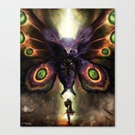 Boss Fight: Mothula (Tempered Sword) Canvas Print