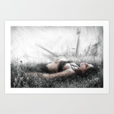 Secret by the Sea Art Print