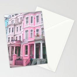 London street life Stationery Cards
