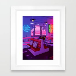 Cocktails And Dreams Framed Art Print