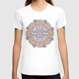 Serendipity Sri yantra T-shirt