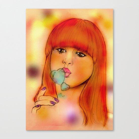 """""""Kazza"""" Canvas Print"""