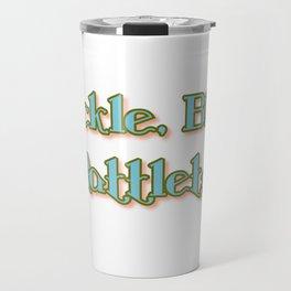 Cackle, Blab & Rattletrap Travel Mug