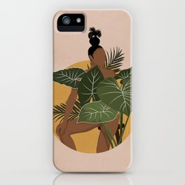 If I were a Plant Artwork iPhone Case