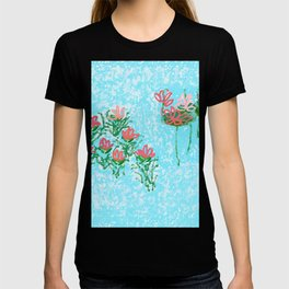 WATER LILYS  (lilies) T-shirt