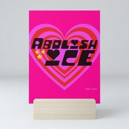 Abolish ICE Mini Art Print