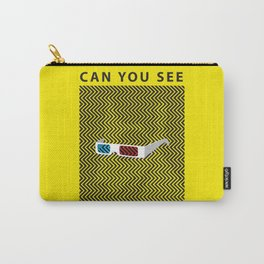Can you see it? A 3d optical experience Carry-All Pouch
