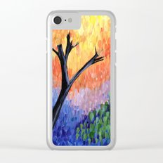 Be the Colorful Tree Clear iPhone Case