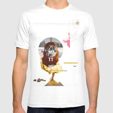 Promosapian Mens Fitted Tee White MEDIUM