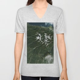 The Olympic National Park has to be one of Americas most diverse national park landscapes Unisex V-Neck