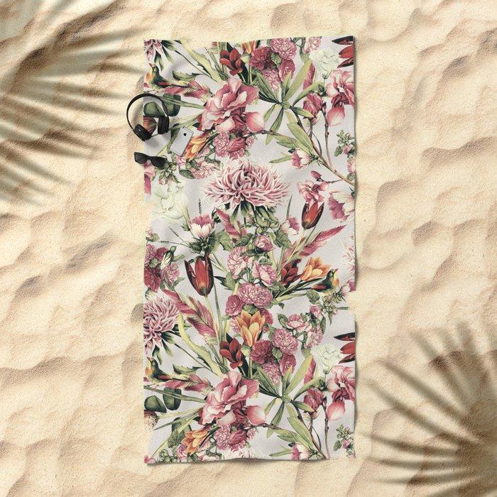 RPE FLORAL XI Beach Towel