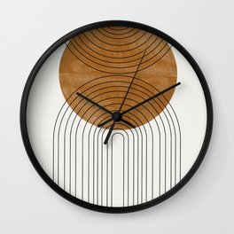 Abstract Flow Wall Clock