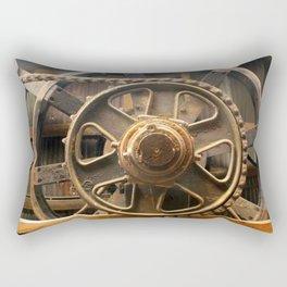 Gears of the Past Rectangular Pillow