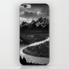Ansel Adams - The Tetons and Snake River iPhone Skin