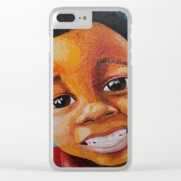 Sourire Maurice Clear iPhone Case