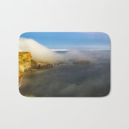 Saltwick Bay as the fog rolls in Bath Mat