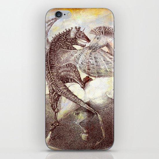 Fight. iPhone & iPod Skin