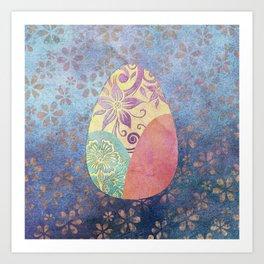 Elegant Ostara Eggs Art Print