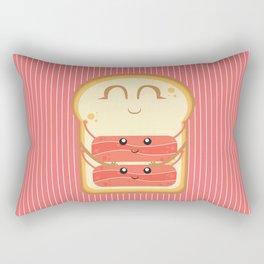 Hug the Bacon Rectangular Pillow