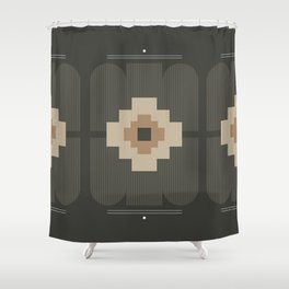 Gray Decor Shower Curtain