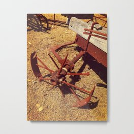 Once Upon A Time - Cartwheel Metal Print