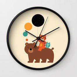 My Little Explorer Wall Clock