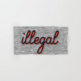 Illegal Hand & Bath Towel