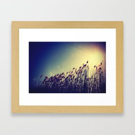 and there was light. Framed Art Print