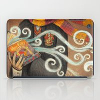 snape iPad Cases featuring Books magic by nokeek