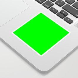 Neon Green Sticker
