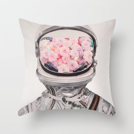 Cosmonaut Throw Pillow