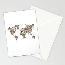 Cat World Stationery Cards