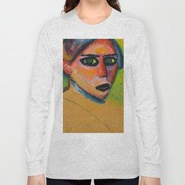 Alexej von Jawlensky - Woman's face, 1911 Long Sleeve T-shirt