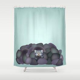 Pallas' Cat Shower Curtain