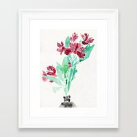 peru Framed Art Prints featuring Peru Lilies by Kate Havekost Fine Art