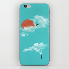 Skydivers (recolor) iPhone & iPod Skin